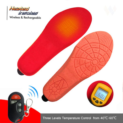 Heated Insoles Wireless 35-39