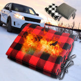 Electric Car Blanket Red