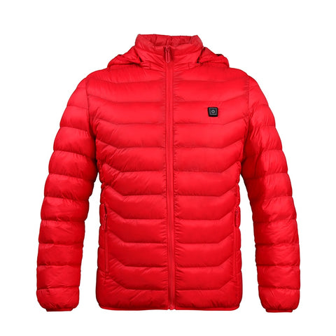 Classic Urban Heated Jacket - Red