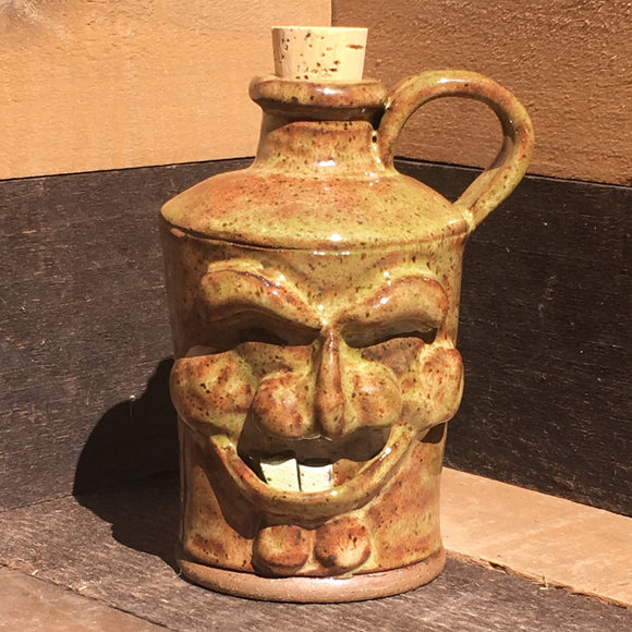 Toothy Face Jug