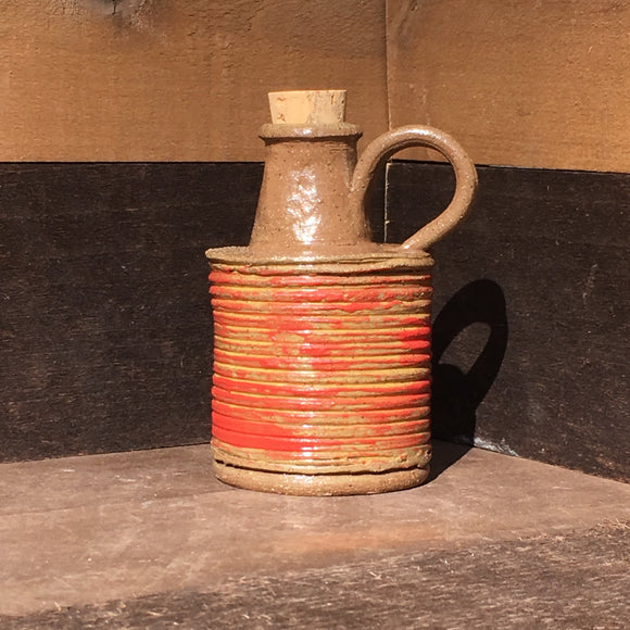 Old Tin Paint Can Jug/Bud Vase
