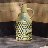 Honey Dew - Handbuilt Stoneware Moonshine Jug/Vase