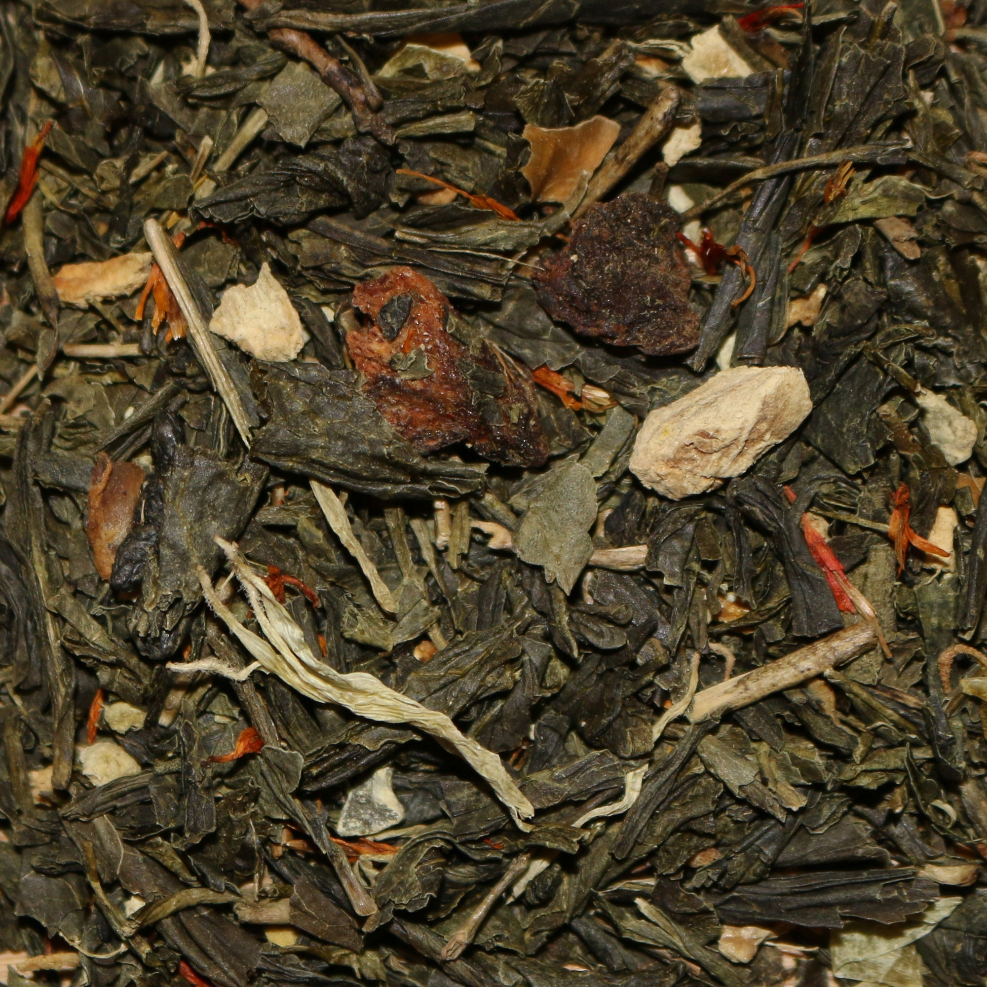 Ginger Orange Peach Organic Green Tea
