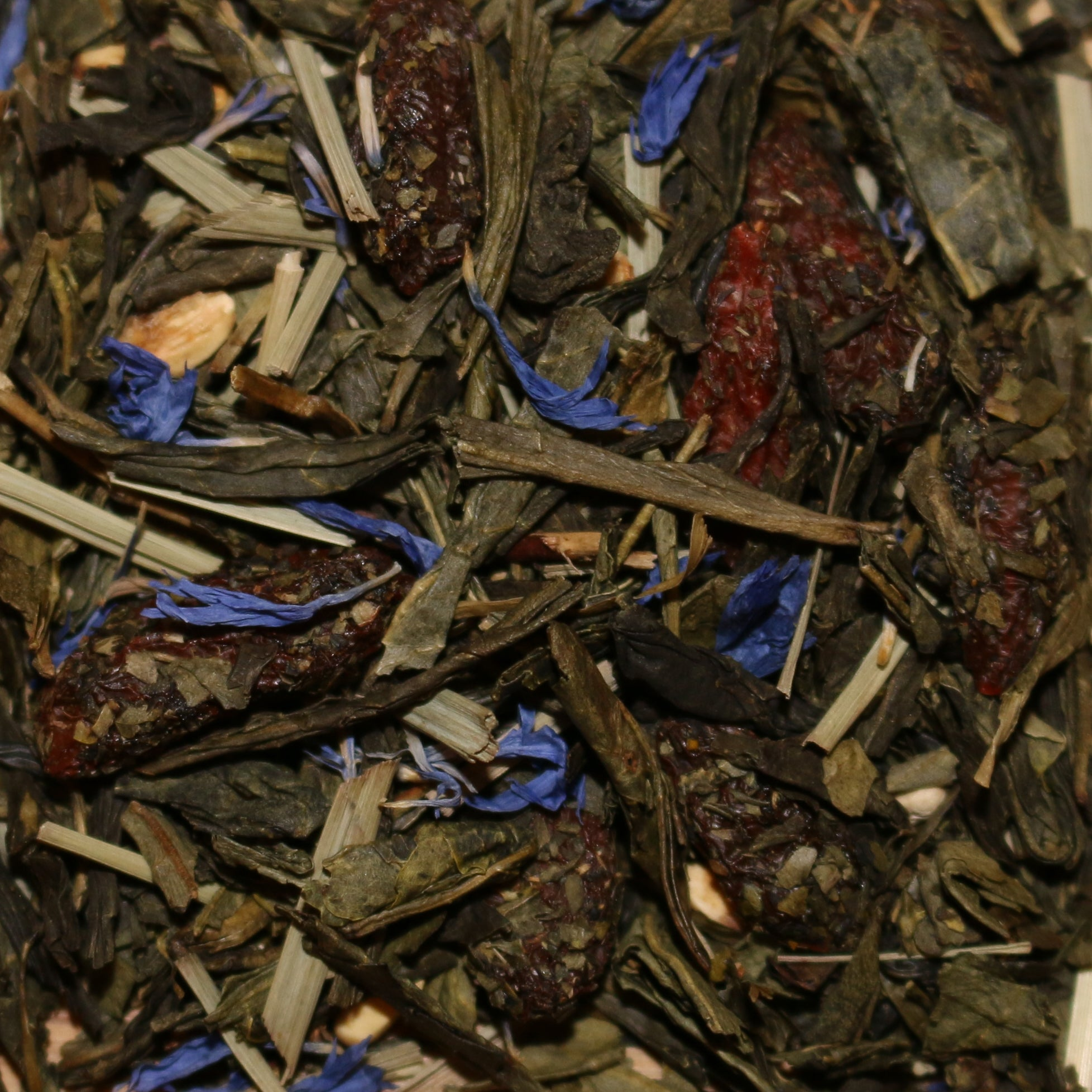 Goji Berry Pomegranate Blueberry Green Tea