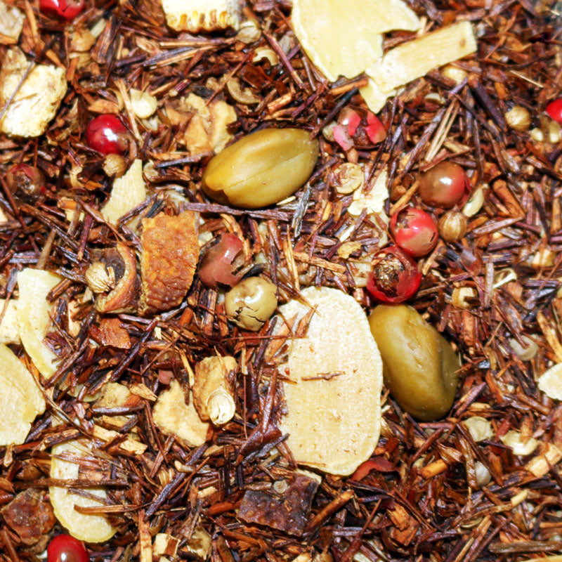Rooibos Orange Gingerbread Herbal Tisane