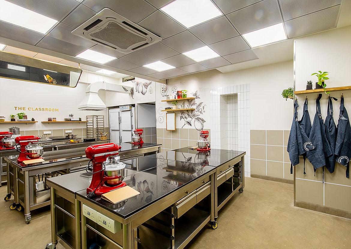 Cooking classroom by La Folie