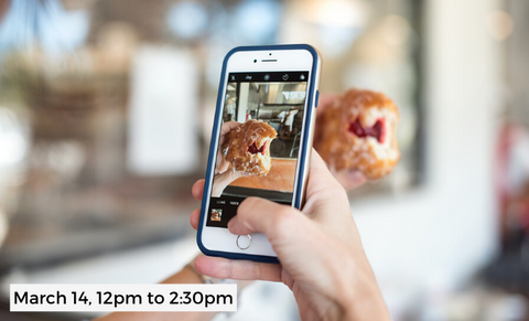 Smartphone Food Photography - Shoot and Edit like a Pro