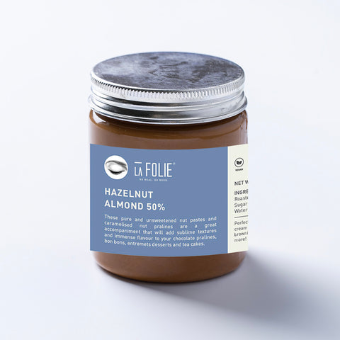 hazelnut almond praline paste