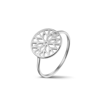 Signature Culet Ring in White Gold