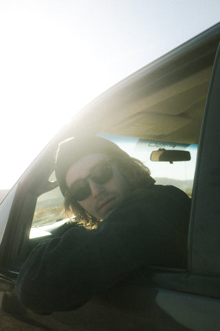 Sunglasses while driving