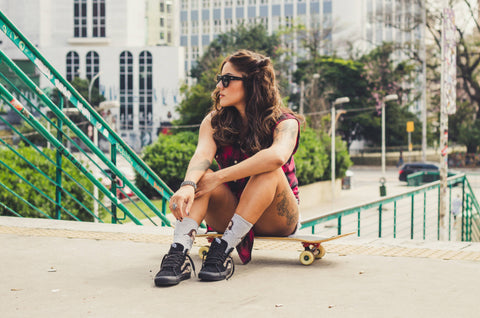 Sunglasses Style and Skateboarding