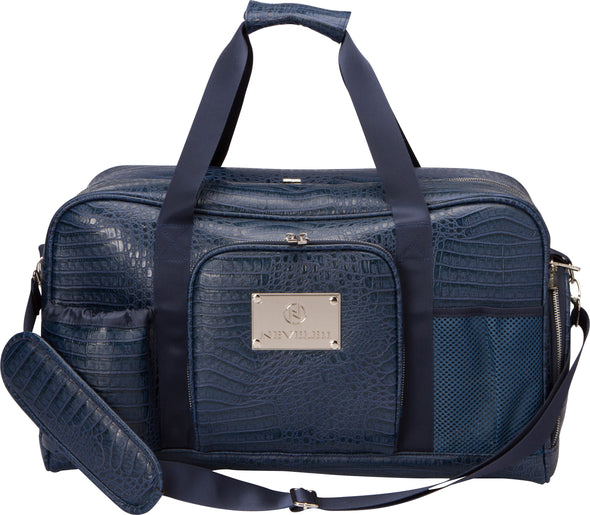 Alligator Luxury Gym Bag In Blue