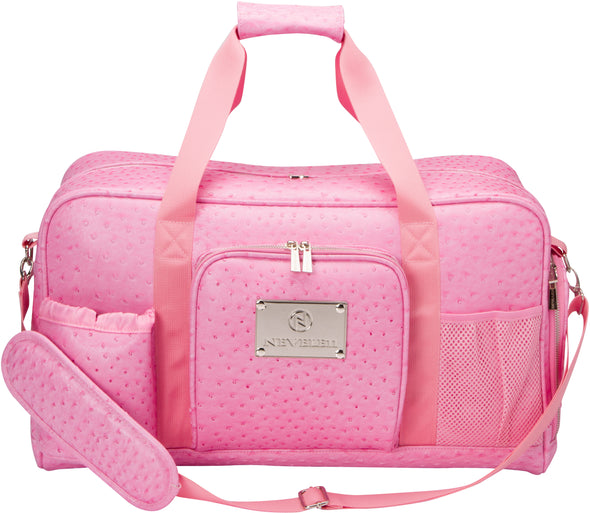 Ostrich Luxury Gym Bag In Pink
