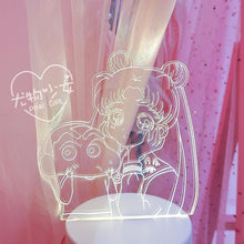 Load image into Gallery viewer, Girl Night Light Desk Lamp Bedside Lamp