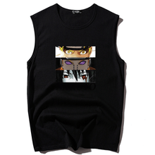 Load image into Gallery viewer, Naruto&Sasuke&Payne Sleeveless T-shirt Printing Vest
