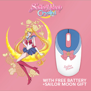 5 Colors Sailor Moon Wireless Mouse