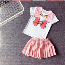 Load image into Gallery viewer, Kids Girls Sailor Moon Cosplay Seifuku Costume Princess Dress