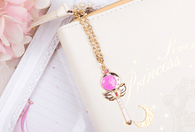 Load image into Gallery viewer, Senshi Moon Soft-Syn Leather NoteBook Planner Writing Down Your Diary With Sailor Moon