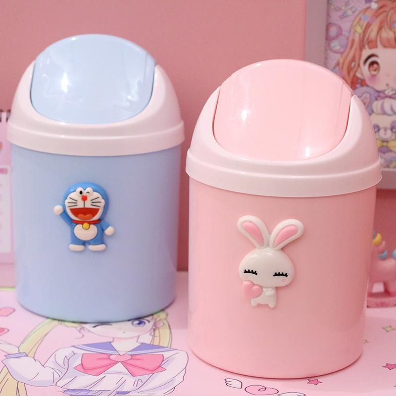 Cartoon Desktop Dustbin Trash Bucket