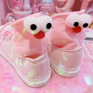 "Stereoscopic Large-eyed Female Socks/The Same Style With""Douyin""/Knee-High"