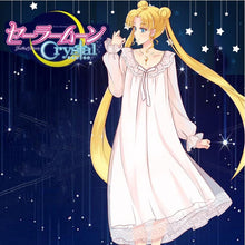 Load image into Gallery viewer, Sailor Moon Princess Skirt Night Gown Home Dress Anime Clothes