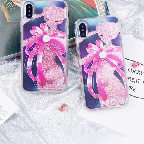 [Limited Back Film For Free!!!]Transformation Quicksand Liquid Glitter Phone Case
