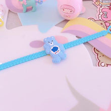 Load image into Gallery viewer, Rainbow Bear Silicone Wristband Bracelet