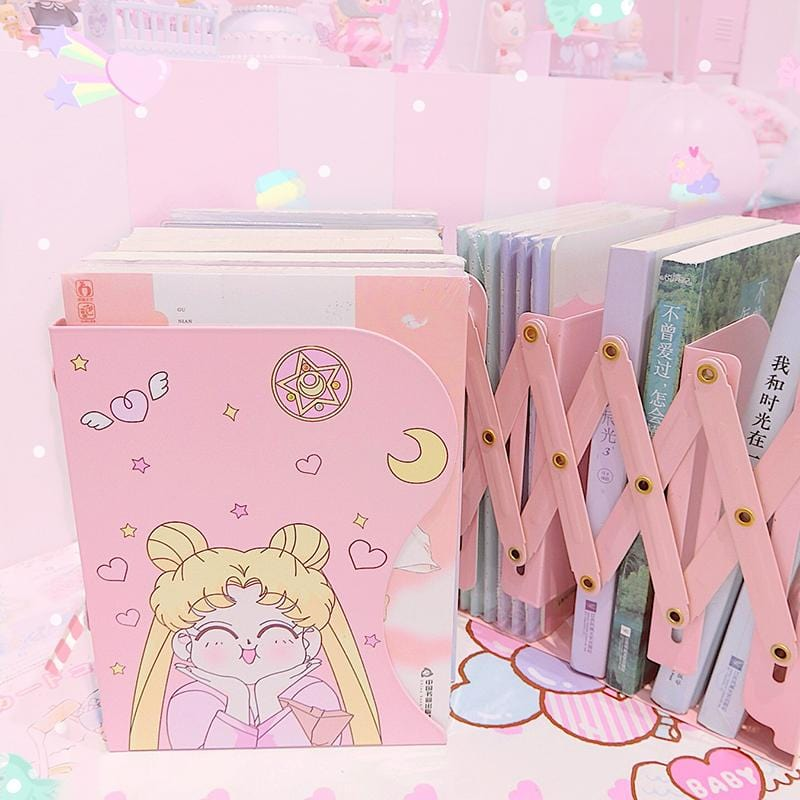[Buy 2 Free Shipping]Sailor Moon Flexible Bookshelf
