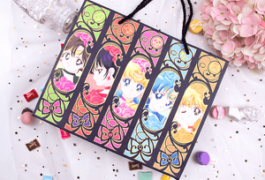 Senshi Moon Soft-Syn Leather NoteBook Planner Writing Down Your Diary With Sailor Moon