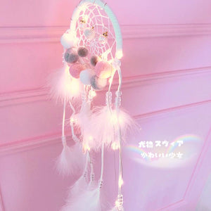 Dreamcatcher With Lamp Wind Bell Dream-Catching  Bell