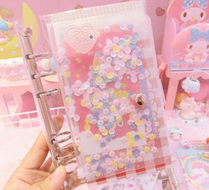 Notebook Diary Unicorn Stickers