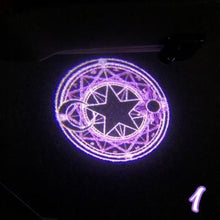 Load image into Gallery viewer, 2 Pcs Sailor Moon/Cardcaptor Sakura Wireless Car Door Welcome Light