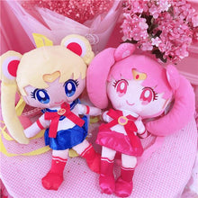Load image into Gallery viewer, Sailor Moon Chibi Moon Plush Backpack