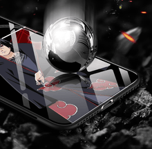 Load image into Gallery viewer, Naruto Blue-light Glass Mobile Phone Case