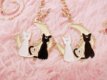 Load image into Gallery viewer, Sailor Moon Cats/Moon/Heart Pendant