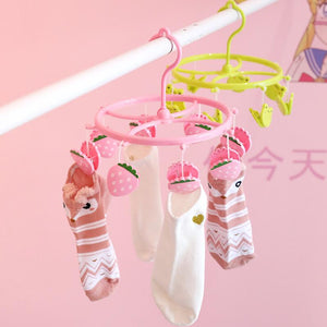 Multifunctional Underwear Sock Airing Clip