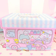 Load image into Gallery viewer, kawaii Dust-proof Folding Storage Box