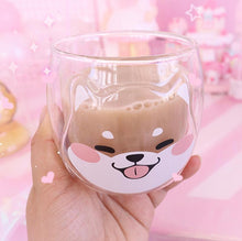 Load image into Gallery viewer, [Limited Quantity]Customize Double-decked Shiba Inu Milk Cup