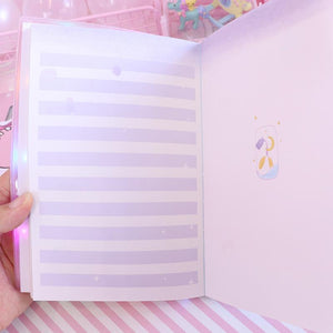 Notepad Notebook With Lamp
