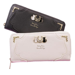 White/Black Sailor Moon Luna/Artemis Wallet