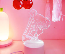 Load image into Gallery viewer, Ins Sailor Moon  Night Light Table Lamp