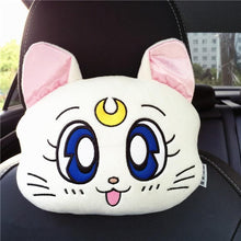 Load image into Gallery viewer, Sailor Moon Car Pillow/Shoulder Pad