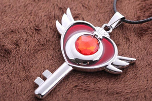 Sailor Moon Flying Moon Necklace