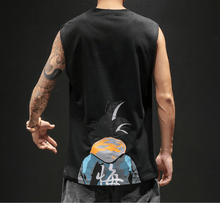 Load image into Gallery viewer, Dragon Ball Cartoon Printed Sleeveless T-shirt Vest