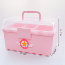 Load image into Gallery viewer, Sakura Pink Medical Interlayer Storage Box