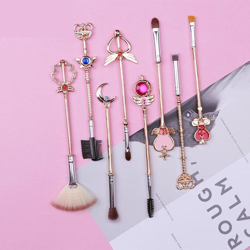 8pcs Magic Wand Makeup Brushes