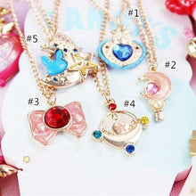 Load image into Gallery viewer, Sailor Moon Necklace