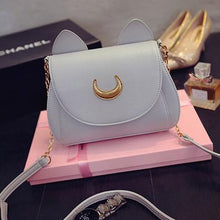 Load image into Gallery viewer, Sailor Moon Luna/Artemis Single Shoulder Bag