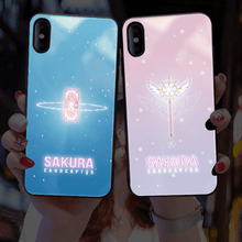 Load image into Gallery viewer, New Design Cardcaptor Sakura Luminescent Phone Case