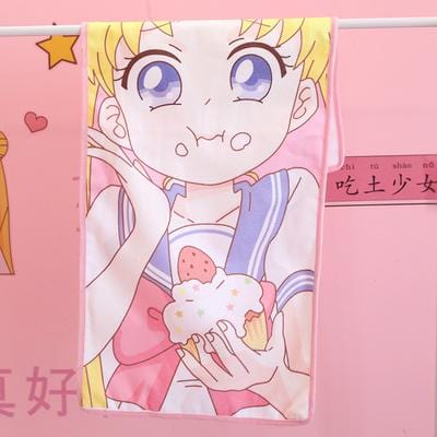 [Buy 2 Free Shipping ]Sailor Moon Cotton Towel